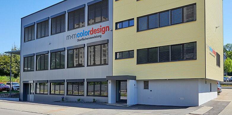 M+M Colordesign - Firmensitz
